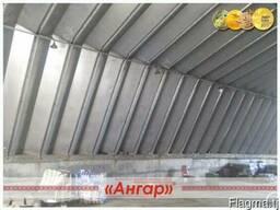 Ангар 12х30 шатровый бескаркасный демонтированный - фото 4