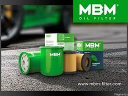 Масляные фильтры МВМ на легковые авто