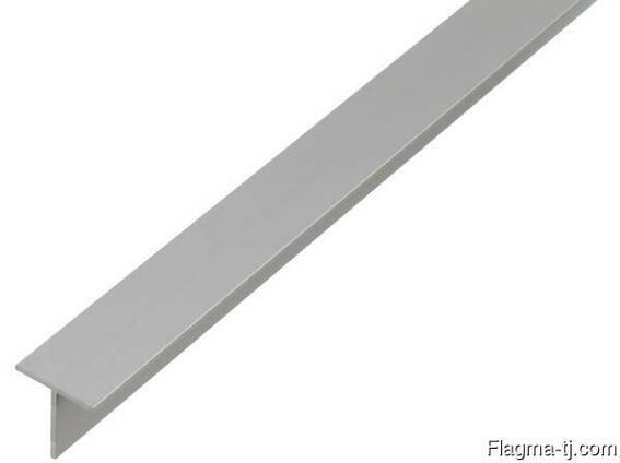 Алюминиевый тавр 25x25x2 мм АД31Т ГОСТ 13622-91