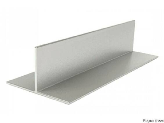 Алюминиевый тавр 60x80x2 мм АД31Т5 ГОСТ 22233-93