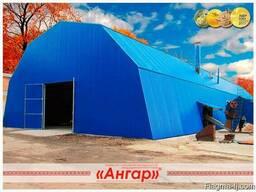 Ангары под склад - прямостенные, шатровые, арочные – изготов - фото 6