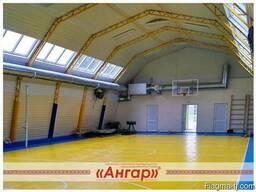 Ангары под спортзал, каток, футбольное поле, теннисный корт, - фото 4