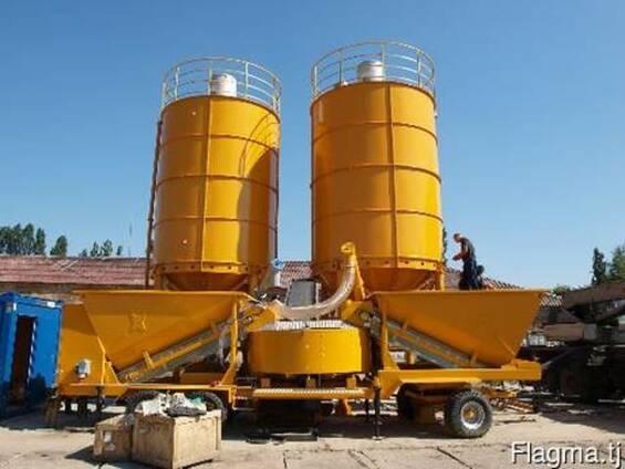 Б/У мобильный бетонный завод Fibo Intercon M22 (60-80 м3/ч)