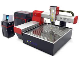 Буридани андозаи хурд CNC waterjet барои буридани гранит шиш