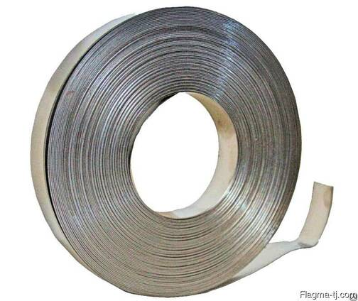 Дюралевая лента 7.5 мм ВД1АН2 ГОСТ 13726-97