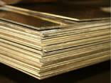 Латунные пластины 0.1 мм ЛО62 ГОСТ 2208-2007 - фото 1