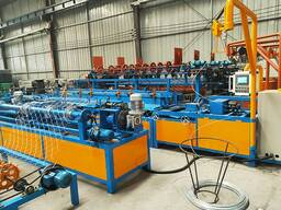 Линия оборудования для производства сетки рабицы автоматический 2м цена в Душанбе