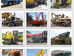 Продажа сваебойного, карьерного и строительного оборудования