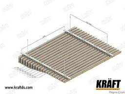 Реечный подвесной потолок от производителя - фото 3