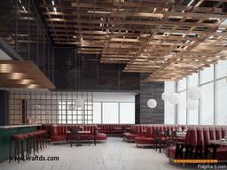 Реечный подвесной потолок от производителя - фото 4