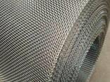 Рифленая нержавеющая сетка 20x20x1.6 мм 12Х18Н10Т ГОСТ 3826- - фото 1