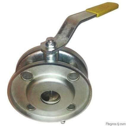 Шаровый кран LD cтриж стальной оцинкованный, шар нерж.