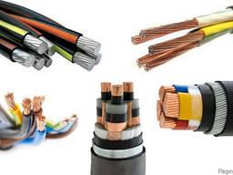 Силовой кабель 1x1. 5 мм АВВГ ГОСТ 16442-80