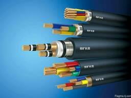 Силовой кабель 1x300 мм АВВГ ГОСТ 16442-80 - фото 1