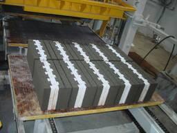 Вибропресс для производства тротуарной плитки U-1500 Швеция - фото 7