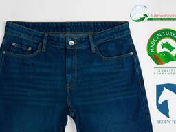 Высококачественные мужские джинсы оптом на экспорт - фото 2