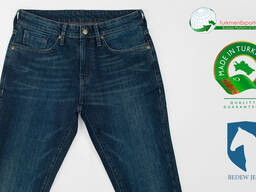 Высококачественные мужские джинсы оптом на экспорт - фото 3