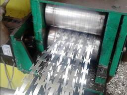 Заказать станок для производства стальной колючей проволоки Егоза ВТО цена как купить