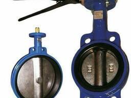 Затвор чугунный межфланцевый с ручным приводом D71X-16 (Ру16