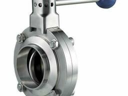 Затворный клапан Butterfly 32 мм AISI 304 ТУ